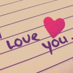 I love you for now....my dear